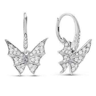 Stephen Webster 18K White Gold Fly By Night Diamond Earrings