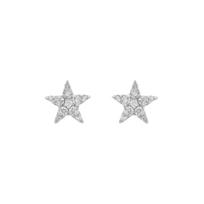 14K_White_Gold_Star_Diamond_Stud_Earrings,_0.18cttw
