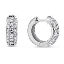 14K_White_Gold_Pave_Diamond_Huggy_Earrings