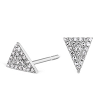 14K_White_Gold_Diamond_Triangle_Earrings