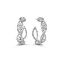 Roberto_Coin_18K_White_Gold_Diamond_Barocco_Hoop_Earrings