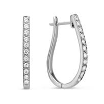 14K_White_Gold_Diamond_Hoop_Earrings,_0.24cttw