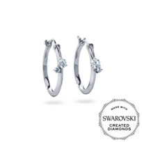 DIAMA_18K_White_Gold_Intimate_Swarovski_Created_Diamond_Hoop_Earrings