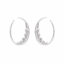 stephen_webster_18k_white_gold_diamond_pave_magnipheasant_hoop_earrings