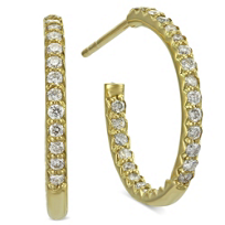 Roberto_Coin_18K_Yellow_Gold_Diamond_Hoop_Earrings