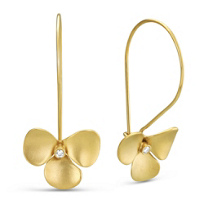 14K_Yellow_Gold_Diamond_Flower_Drop_Earrings