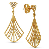 14K_Yellow_Gold_Open_Fan_Diamond_Drop_Earrings,_0.20cttw