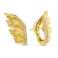 Stephen_Webster_18K_Yellow_Gold_Diamond_Magnipheasant_Wing_Earrings
