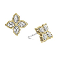 Roberto_Coin_18K_Yellow_&_White_Gold_Diamond_Princess_Flower_Earrings,_Medium