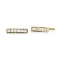 14k_yellow_gold_diamond_bar_earrings