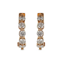 14K_Rose_Gold_Round_Diamond_Hoop_Earrings,_0.39cttw