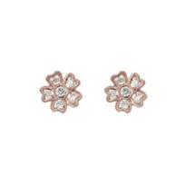 14K_Rose_Gold_Flower_Diamond_Stud_Earrings,_0.17cttw