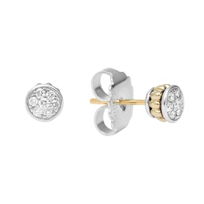 Lagos_Sterling_Silver_&_18K_Yellow_Gold_Diamonds_&_Caviar_Stud_Earrings,_0.20cttw