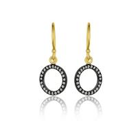 Lika_Behar_24k_yellow_gold_&_oxidized_sterling_silver_diamond_circle_drop_earrings