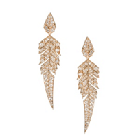 stephen_webster_18k_rose_gold_diamond_magnipheasant_feather_dangle_earrings