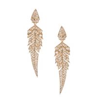 stephen_webster_18k_rose_gold_diamond_magnipheasant_feather_dangle_earrings
