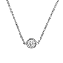 Roberto_Coin_18K_White_Gold_Bezel_Set_Diamond_Necklace,_0.09ct