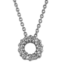 Roberto_Coin_18K_White_Gold_Diamond_Circle_Pendant,_0.06cttw