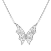 "stephen_webster_18k_white_gold_fly_by_night_diamond_necklace,_15.5"""