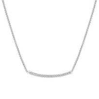 14K_White_Gold_Curved_Bar_Diamond_Necklace,_17.5""