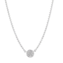 Phillips_House_14K_White_Gold_Diamond_Micro_Circle_Necklace,_18""