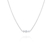 "14k_white_gold_diamond_bezel_set_3_stone_necklace,_18"""