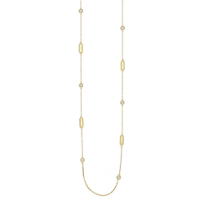 Roberto_Coin_18K_Yellow_Gold_Alternating_Diamond_Station_New_Barocco_Necklace,_36""