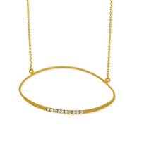 14K_Yellow_Gold_Diamond_Ellipse_Necklace