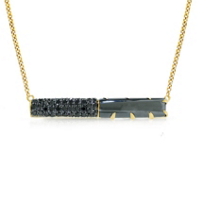 Phillips_House_14K_Yellow_Gold_Black_Round_Diamond_&_Hematite_Contrast_East-West_Bar_Necklace