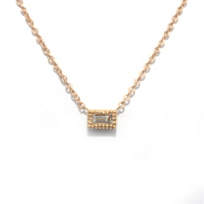 14K_Yellow_Gold_Baguette_Diamond_Necklace