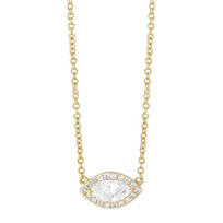 18K_Yellow_Gold_East/West_Marquise_Diamond_Halo_Pendant