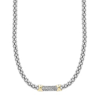 Lagos_Sterling_Silver_&_18K_Yellow_Gold_Diamond_Lux_Beaded_Necklace