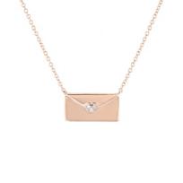 "14k_rose_gold_diamond_love_letter_necklace,_16-18"""