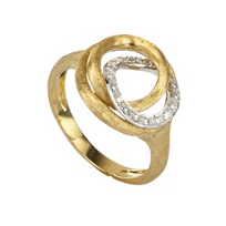 Marco_Bicego_18K_Yellow_&_White_Gold_Jaipur_Link_Diamond_Ring,_0.14cttw
