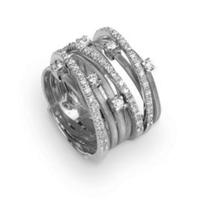 Marco_Bicego_18K_White_Gold_&_Diamond_Goa_Nine_Strand_Ring