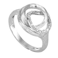 Marco_Bicego_18K_White_Gold_Jaipur_Link_Diamond_Ring,_0.14cttw