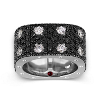 Roberto_Coin_18K_White_Gold_Double_Row_Black_&_White_Diamond_Pois_Moi_Ring