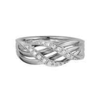 14K_White_Gold_Double_Wave_Diamond_Ring