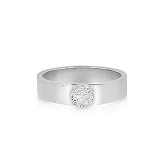 Phillips House 14K White Gold Diamond Pave Top Love Always Rings