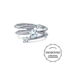 Diama_18K_White_Gold_Intimate_Swarovski_Created_Diamond_Three_Stone_Ring