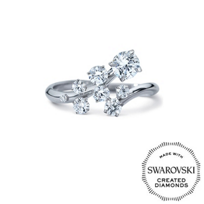 Diama_18K_White_Gold_Signature_Swarovski_Created_Diamond_Bypass_Ring