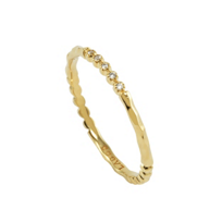 Lagos_18K_Yellow_Gold_Covet_Diamond_Stacking_Ring