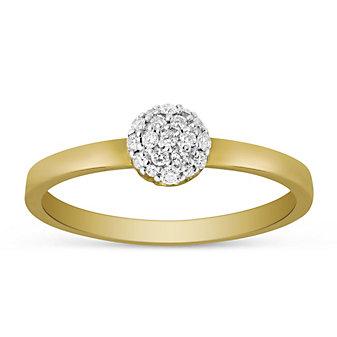 Phillips House 14K Yellow Gold Diamond Love Always Ring