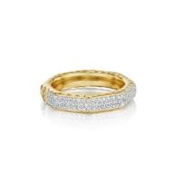 phillips_house_14k_white_gold_diamond_3_row_octagon_hammered_hero_ring