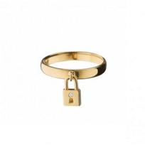 monica_rich_kosann_18k_yellow_gold_lock_charm_ring,_size_7