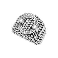 Lagos_Sterling_Silver_Enso_Diamond_Circle_Ring,_Wide