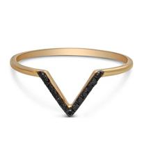 14K_Rose_Gold_Black_Diamond_V_Ring