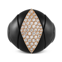 Roberto_Demeglio_18K_Rose_Gold_&_Black_Ceramic_Diamond_Diva_Ring