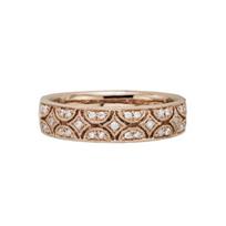 14K_Rose_Gold_Arch_Milgrain_Diamond_Ring,_0.16cttw