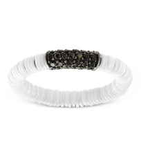 Roberto_Demeglio_18K_White_Gold_&_White_Ceramic_Black_Diamond_Ring